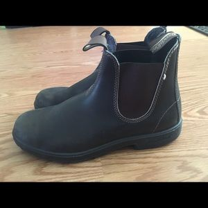 Blundstone 500 Black/Brown Boots